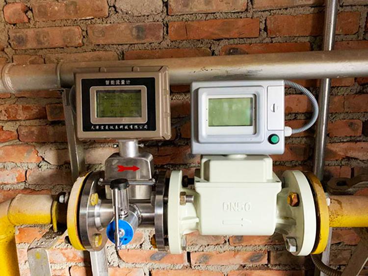 气体涡轮流量计与制器的配合使用